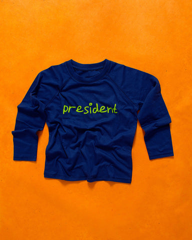 Presidential Long Sleeve Top