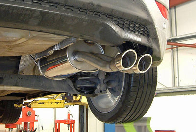 Mongoose fiesta 1.0 ecoboost cat-back exhaust system