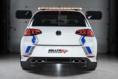 Milltek Exhaust Volkswagen Golf MK7 R 2.0 TSI 300PS Cat-back (SSXVW257)