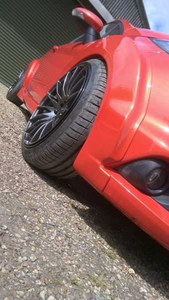 Fiesta MK7 Extended Wheel Arches