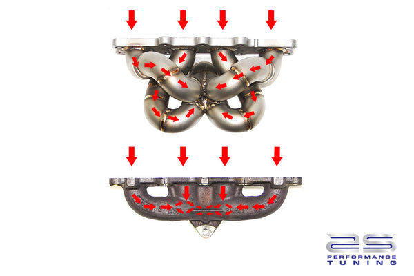 AS performance tubular manifold for Fiesta ST 180
