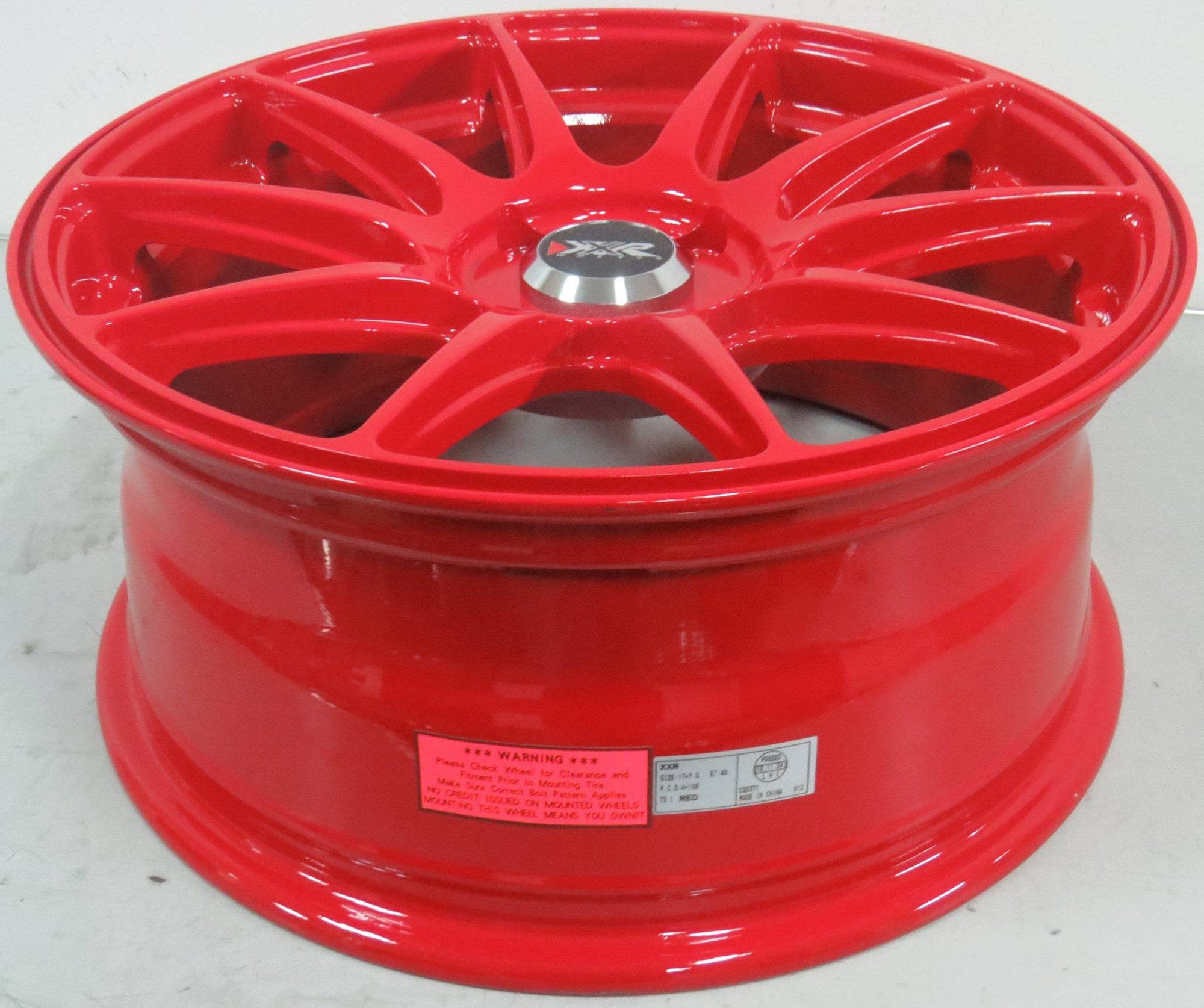 "XXR 527 17x7.5"" ET40 4x108 - Race red special colour"
