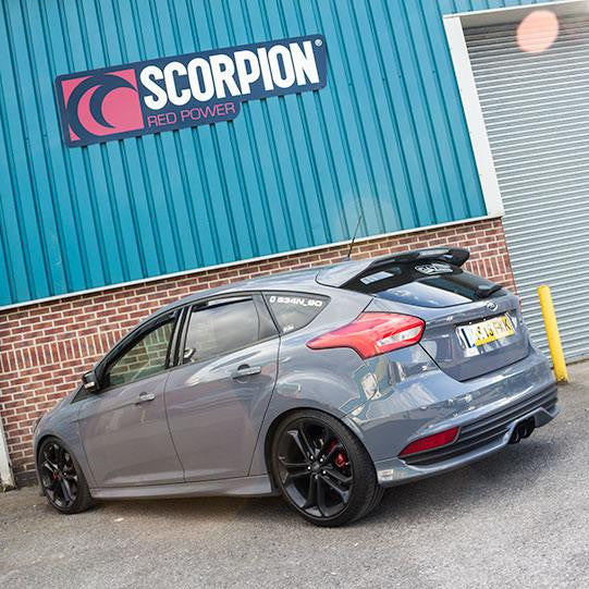 Ford Focus mk3 ST TDCi Performance DPF Back Exhaust