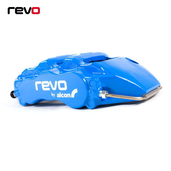 Revo Focus RS Mk3 Big Brake Kit in Nitrous Blue