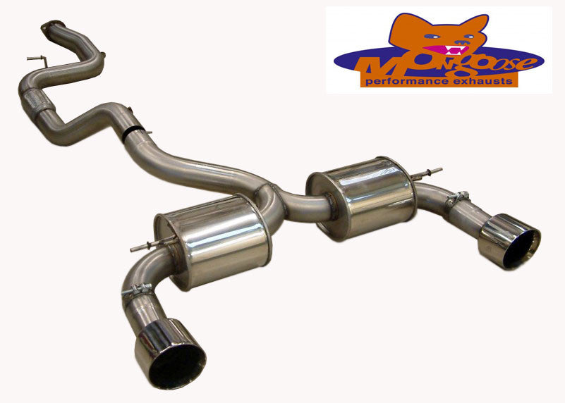Focus RS Mk2 Mongoose Section 59 Cat Back System