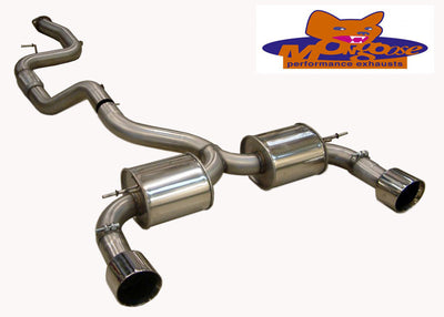 Focus ST Mk2 Mongoose Section 59 Cat Back System
