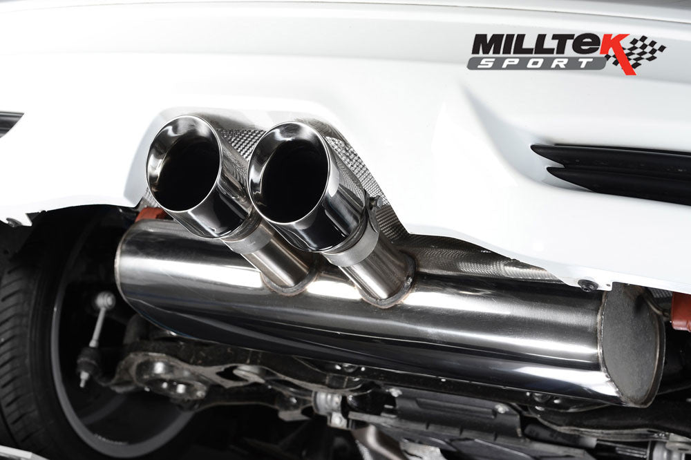 Milltek Cat Back ST250 2 litre Eco Boost 5-Door Hatch Back - Resonated 'Quieter' TUV EC Approved