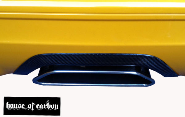 Focus Mk3 ST250 Carbon Exhaust tail pipe heat shield trim - Hatch Back