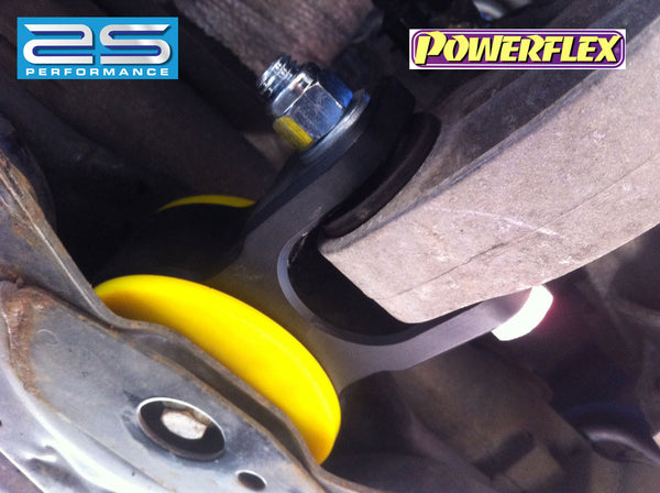 AS Performance Billet alloy gearbox torque mount upgrade with Fast road or Track/Race polyurethane bush inserts