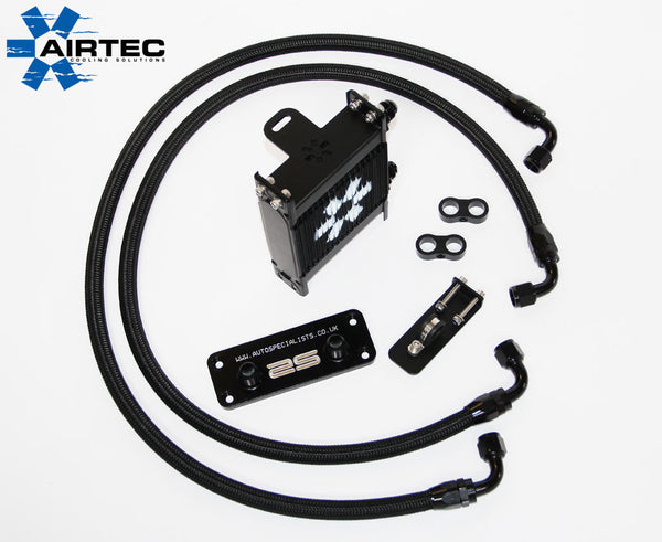 Airtec 'Race' RS Mk2 remote oil cooler kit - Lower grill mounted (Right hand side)
