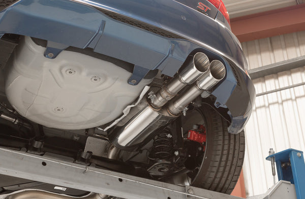 Mk8 Fiesta ST GPF-Back system with electronic valve