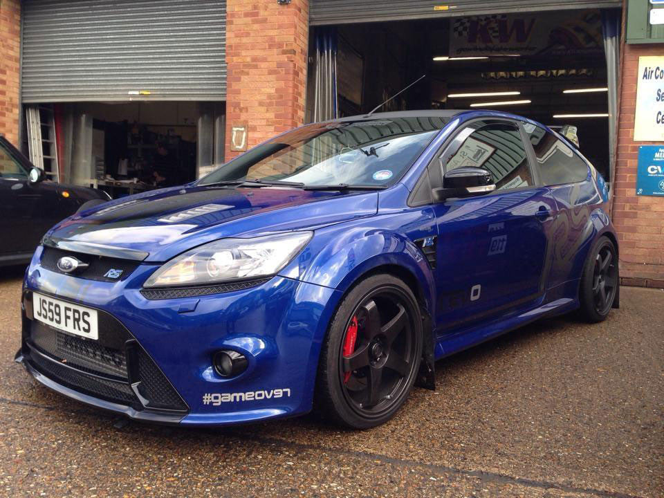 AIRTEC Focus RS Special Edition Stg2 Intercooler & 2.5inch Boost pipe upgrade in Satin Black