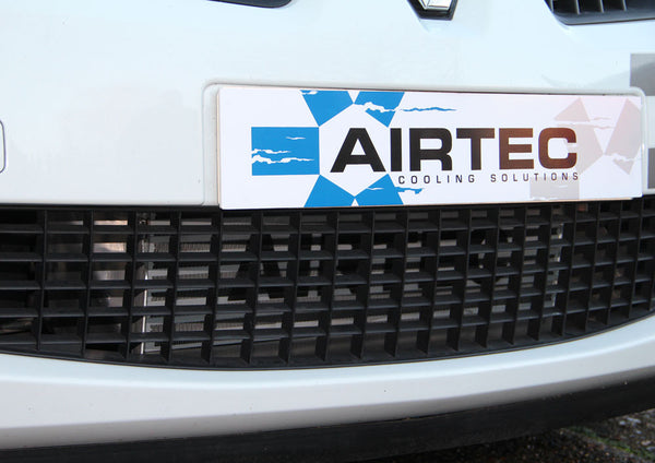Airtec Megane 2 225 and R26 95mm core Intercooler upgrade with Air-Ram scoop