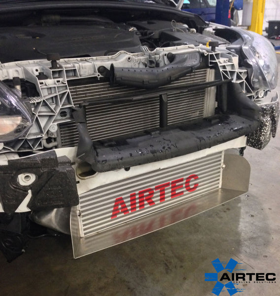 Focus Zetec S 1.6 Eco Boost Airtec Intercooler upgrade with full depth Air Ram Scoop