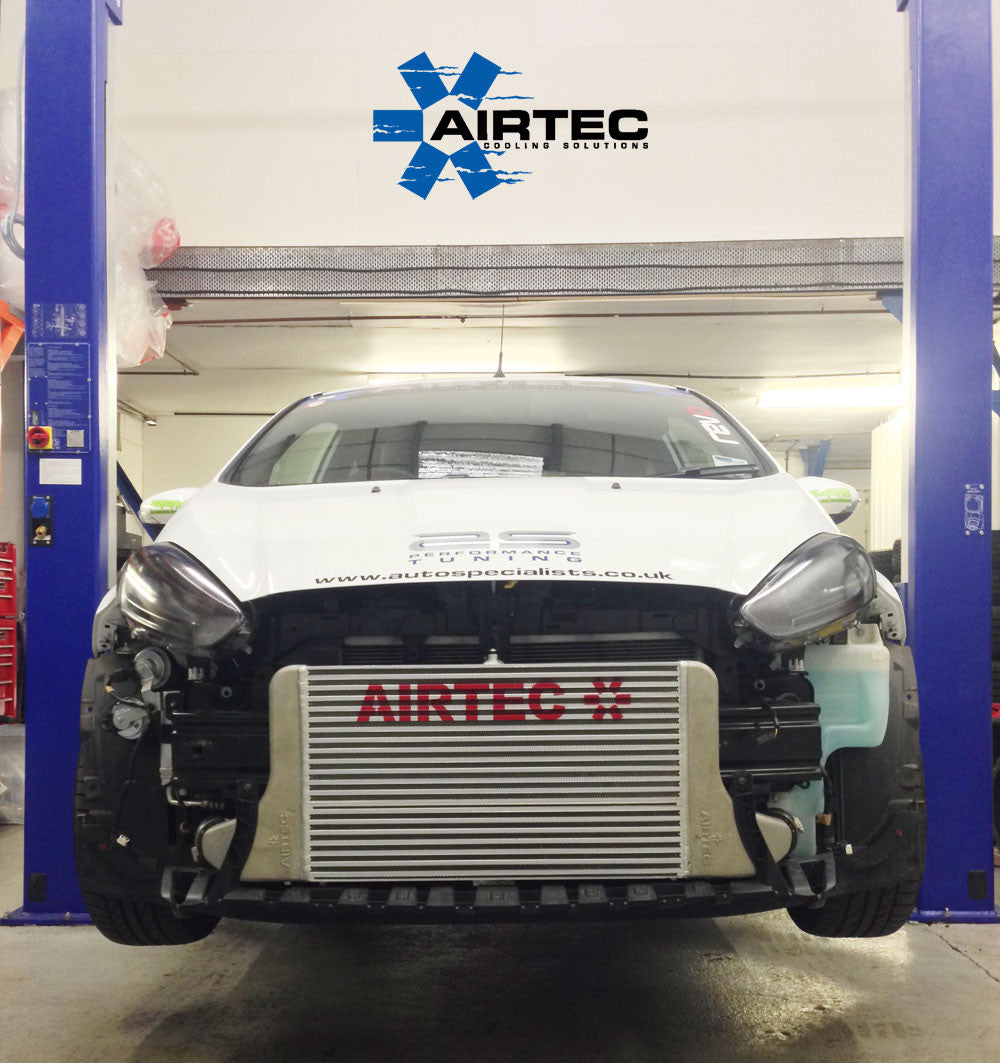 AIRTEC Stage 3 Fiesta ST180 Eco Boost front mount Intercooler upgrade