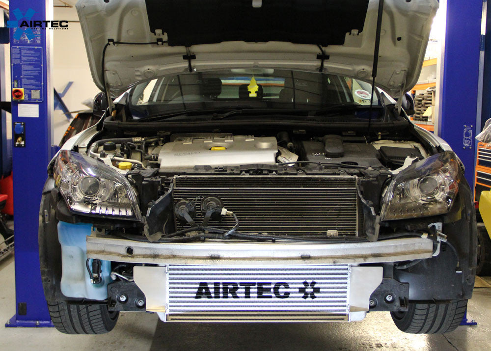 airtec megane 3 rs 250 and 265 60mm core intercooler upgrade with air sico developments. Black Bedroom Furniture Sets. Home Design Ideas