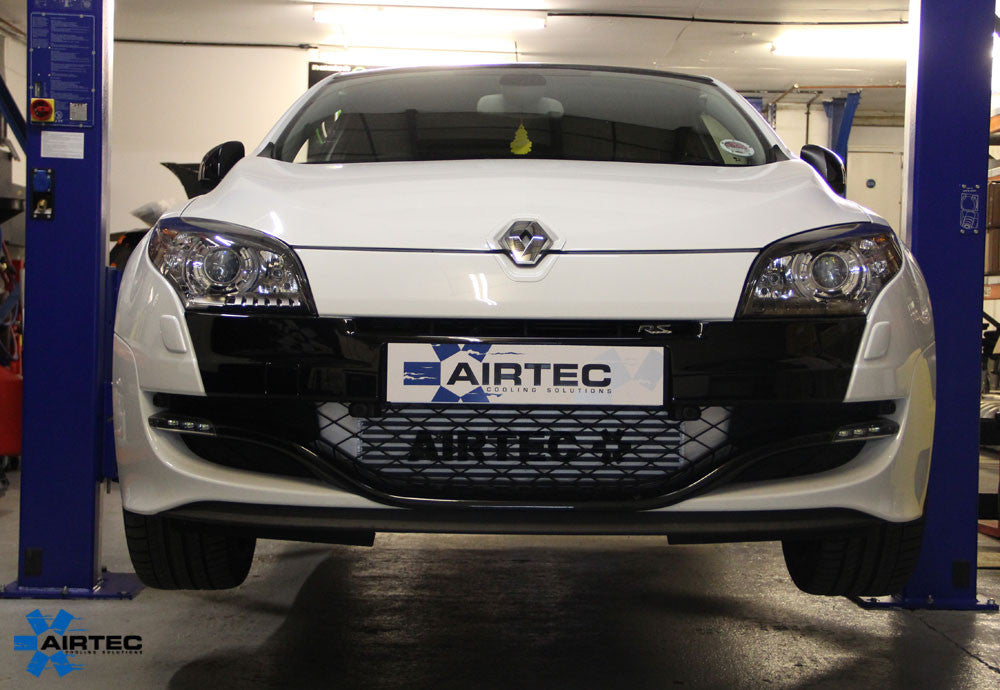 AIRTEC Megane 3 RS 250 and 265 60mm core Intercooler upgrade with Air-Ram scoop