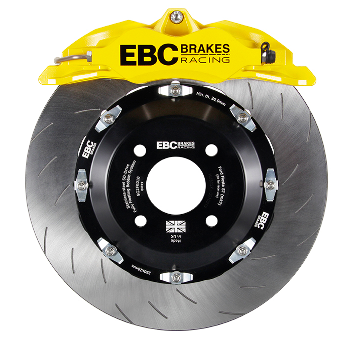 EBC BBK Balanced Brake Kit - 300-330mm 4 Pot - Ford Fiesta MK8 ST200 2019