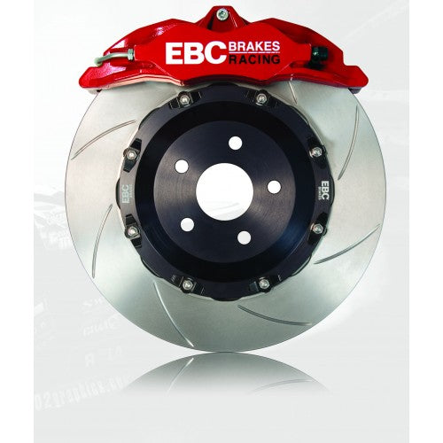 EBC 4 pot BBK Balanced Brake Kit - Ford Fiesta MK7 ST180 2011-2017