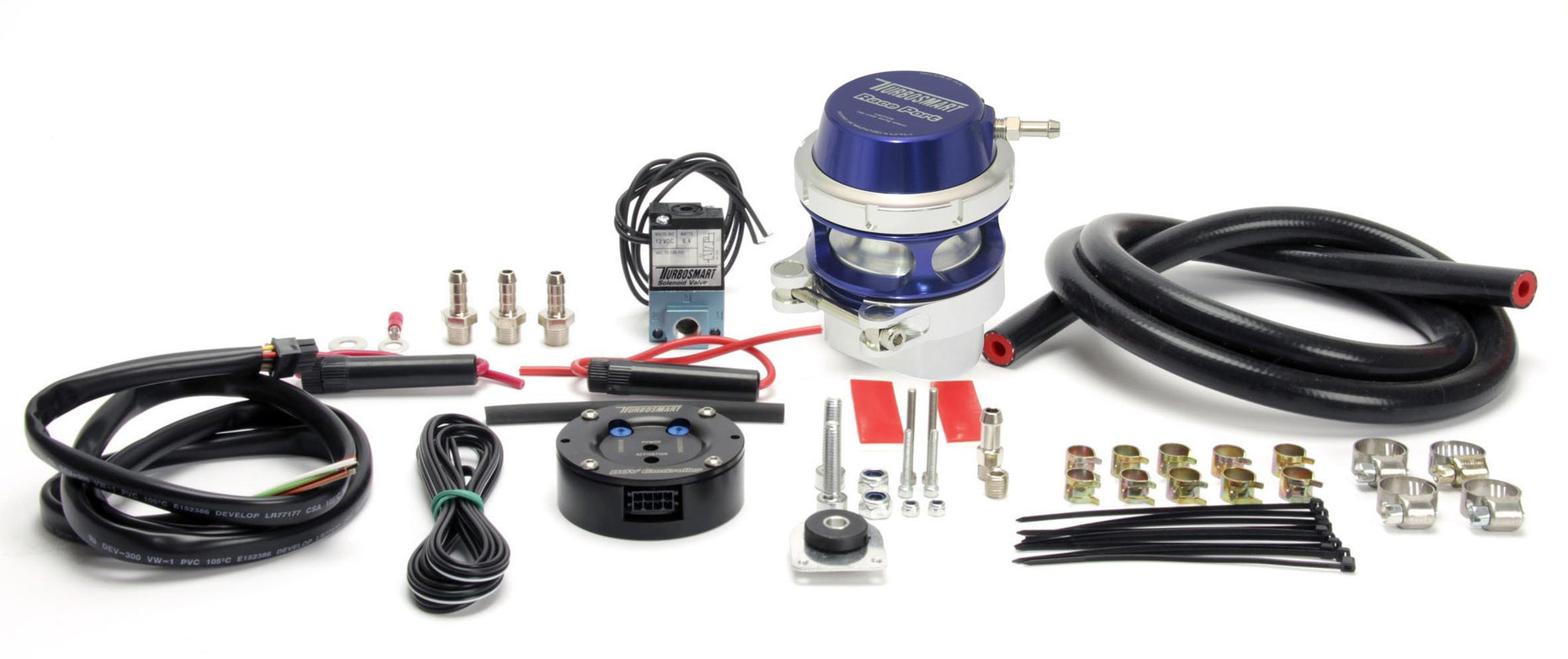 BOV controller kit (controller + custom Raceport) Blue