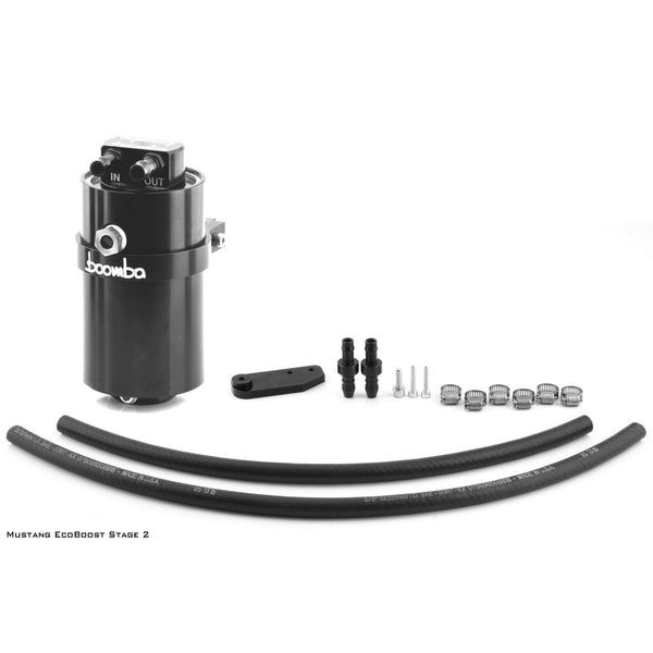 Boomba mustang 2.3 ecoboost Stage 2 Oil Catch Can Kit (PCV)