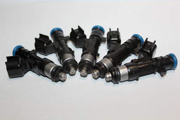 Genuine Bosch 650cc multi-hole injectors - set of five
