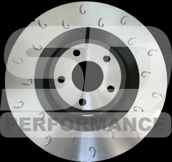 Focus MK3 RS Front Performance discs - J-Hook