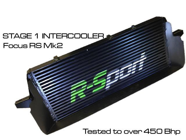 R-sport Stage 1 Focus RS Mk2 60mm Intercooler with Scoop