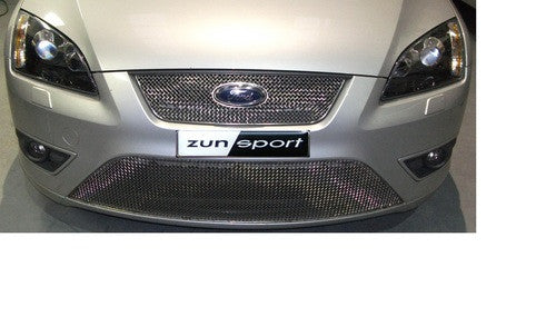Zunsport prefacelift Ford Focus MK2 ST - Full Lower Front Grille Set