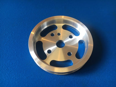 Ford Focus RS/ST Mk2 Billet CNC Machined Lightweight Crank Pulley