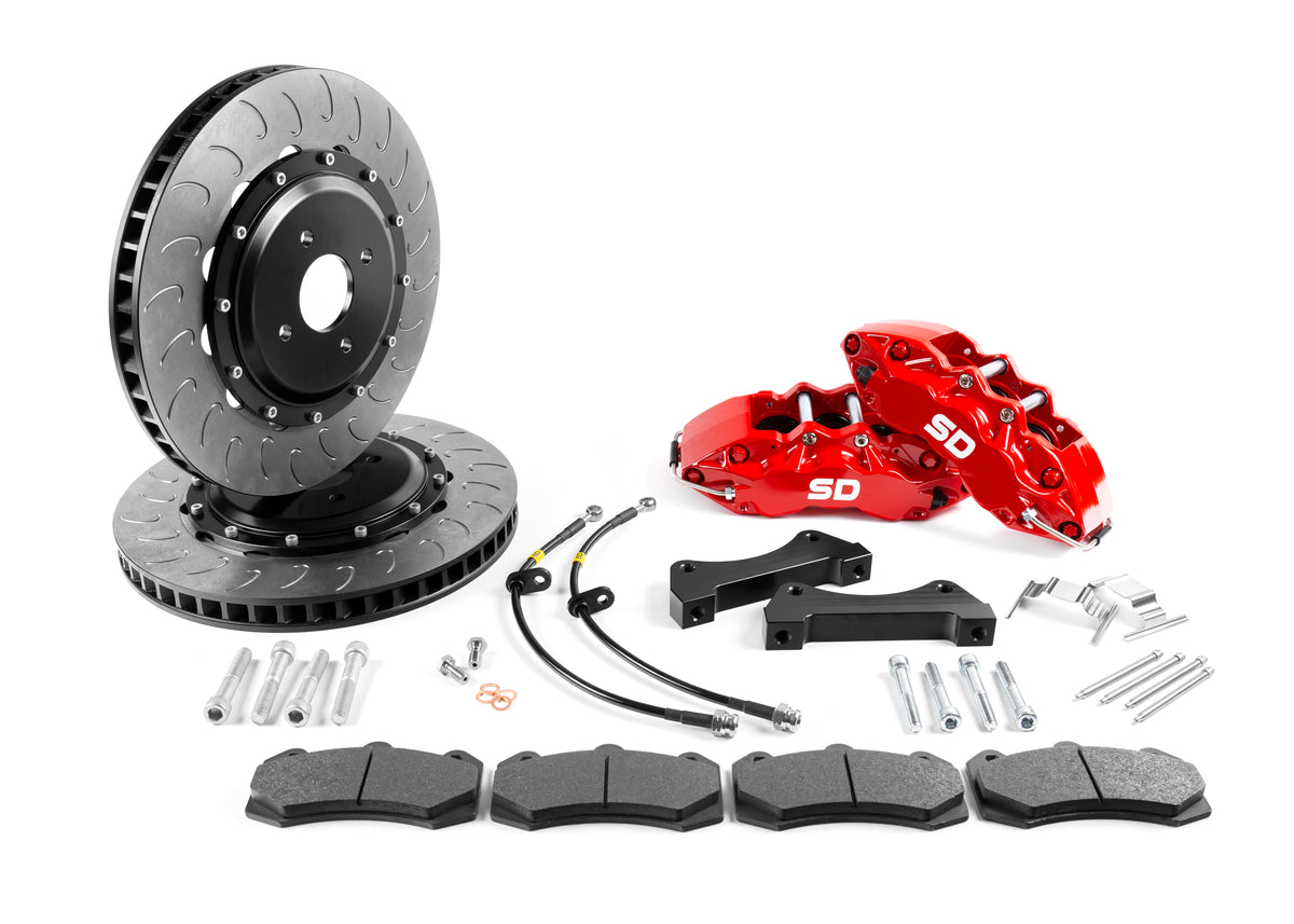 Fiesta Mk8 SD Performance 355mm 6 Pot brake kit