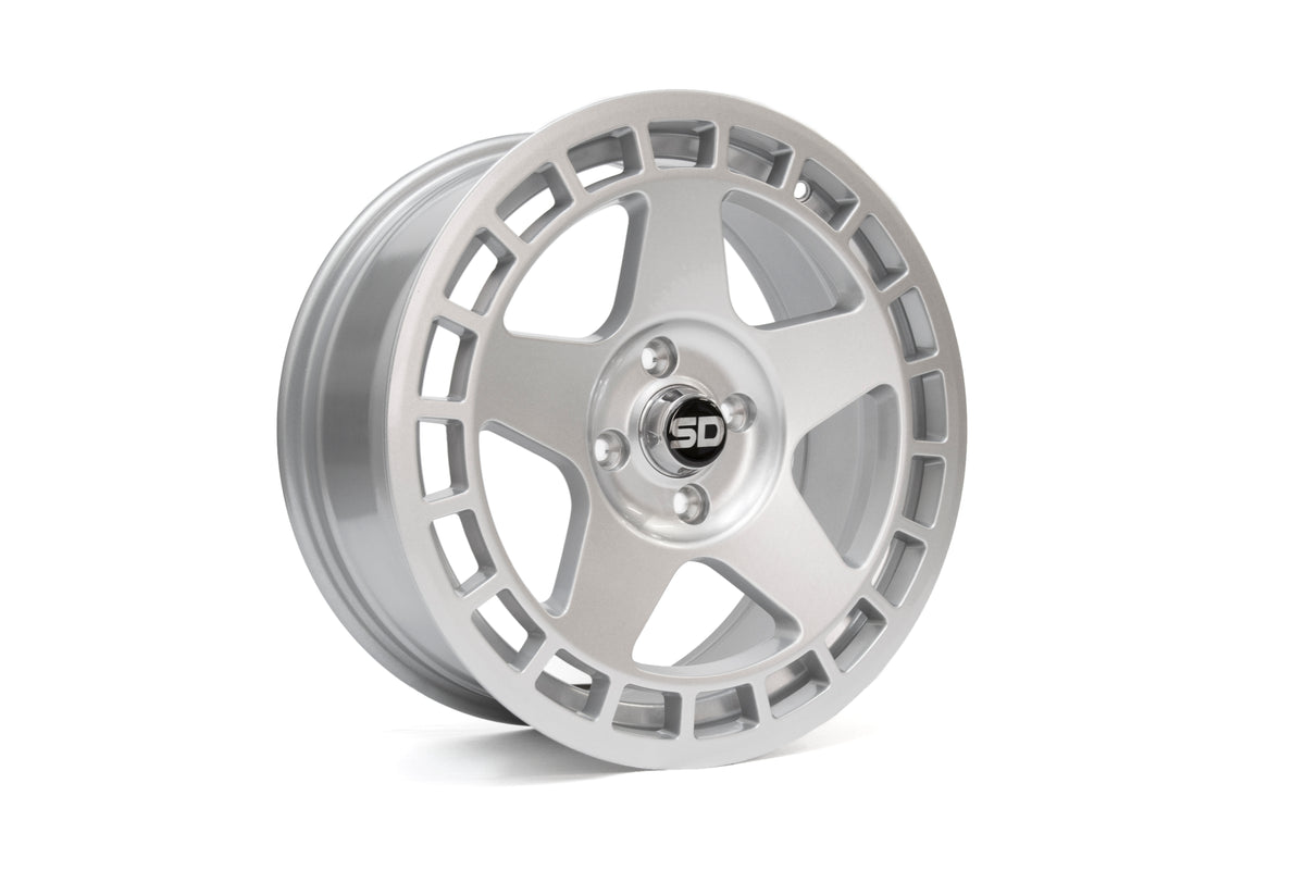DNT 17*7.5 ET40 4x108 Gloss Silver wheels