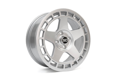 *November Special* DNT 17*7.5 ET40 4x108 Gloss Silver wheels