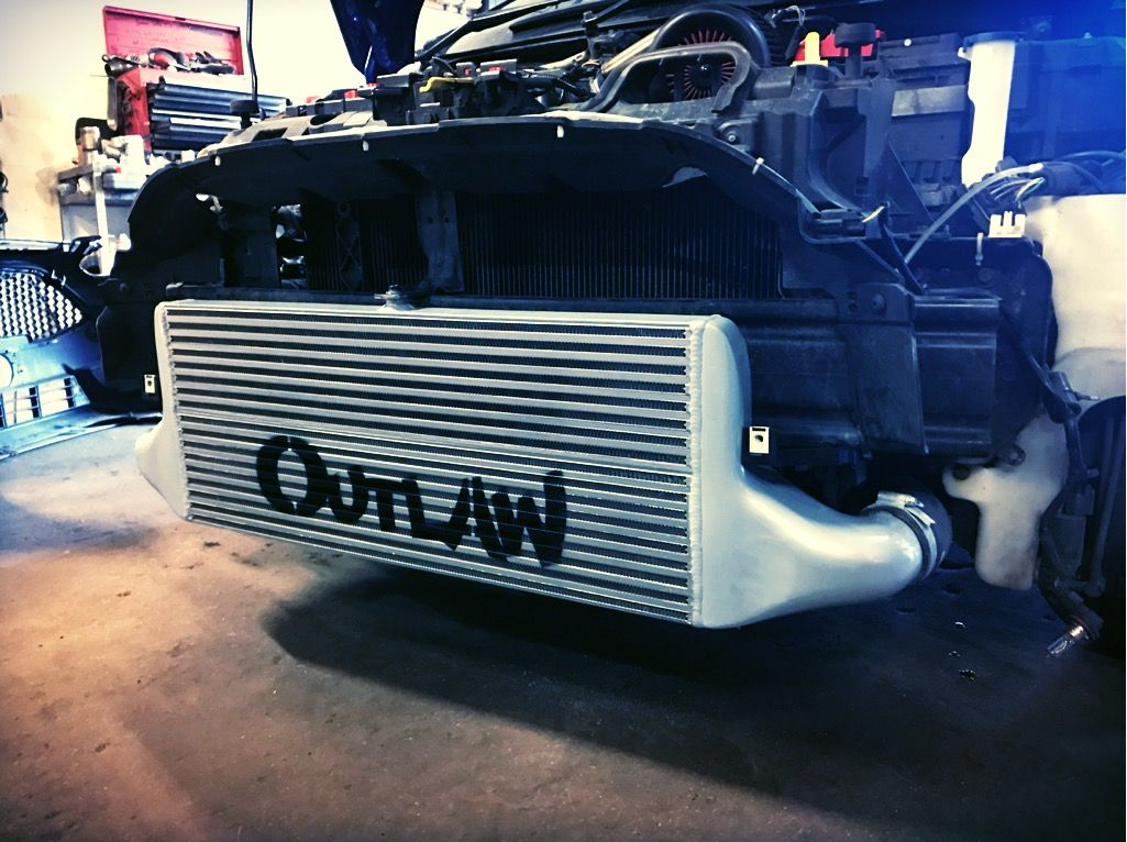 Outlaw 5triple1 Racing intercooler (450bhp rated)