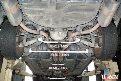 Ultra Racing Jaguar S Type 3.0 V6  1999-2008 Rear Lower Brace (RL2-1405)