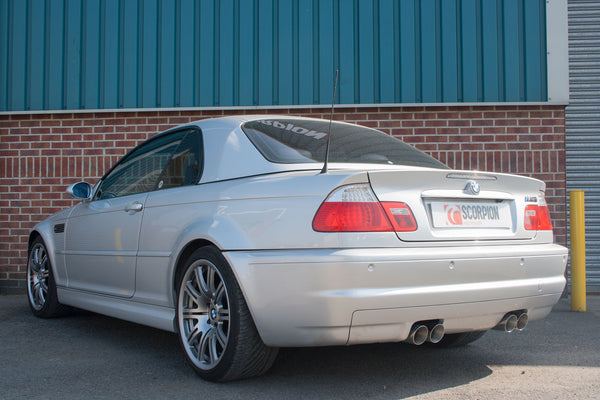 Bmw E46 M3  Cat-back system