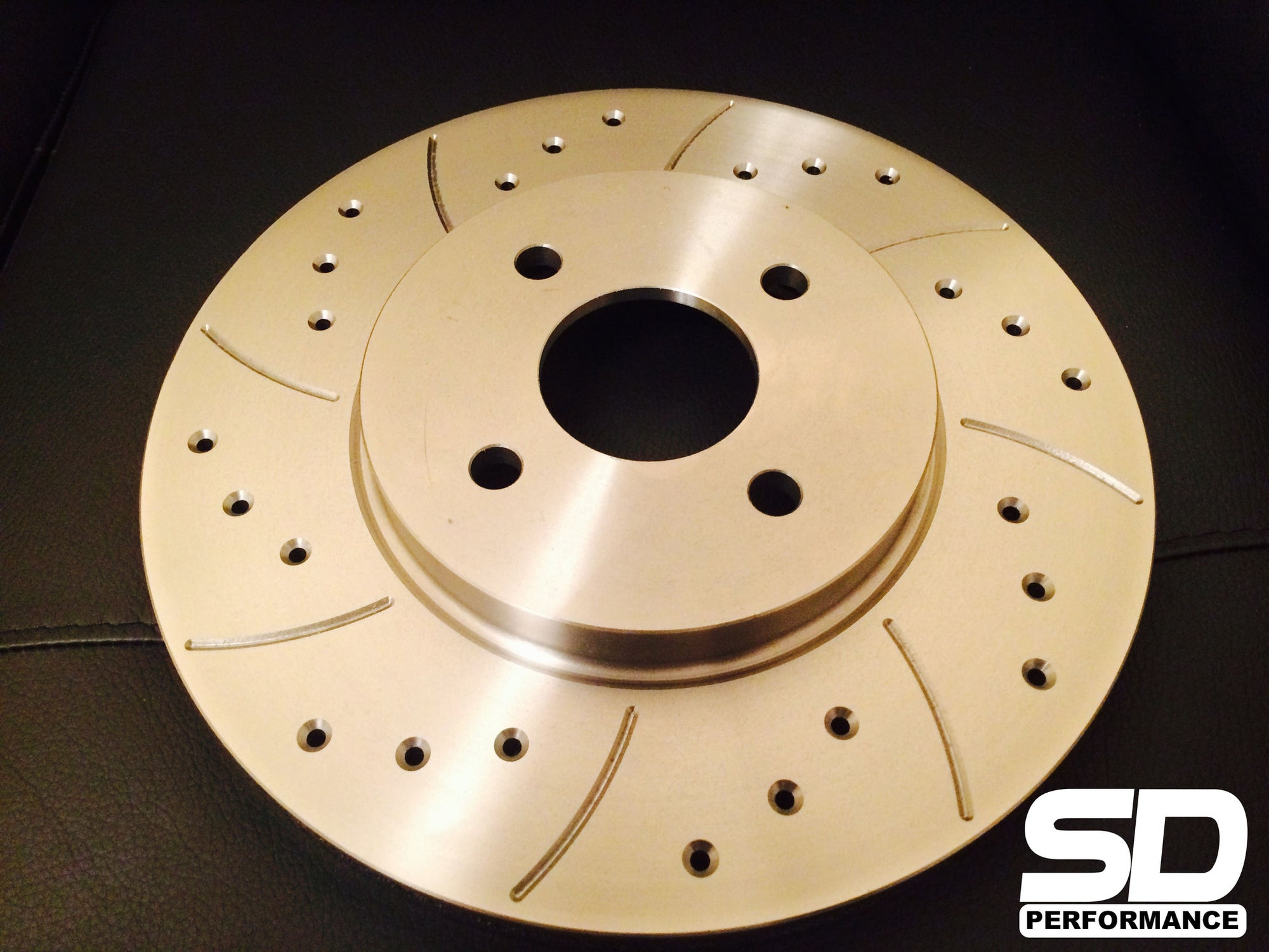 SD Performance Fiesta MK6 300mm conversion Performance discs - Drilled and Grooved