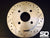 SD Performance Fiesta MK6 250mm rear conversion Performance discs - Drilled and Grooved