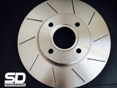 SD Performance Fiesta MK7 ST180 Performance front discs