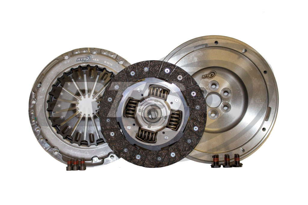 Fiesta ST180 & ST200 Uprated Organic Clutch Kit with SMF