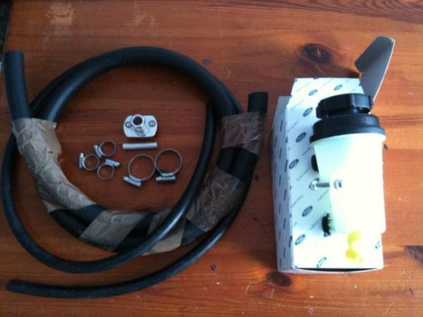 Power steering relocation kit and stage two '13 row' cooler