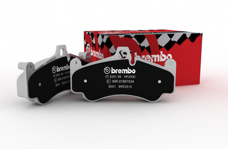 Focus RS MK2 Brembo HP Sport Rear Pads