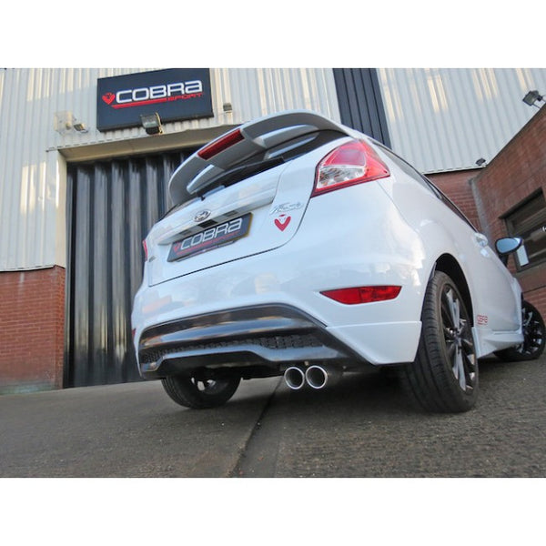 Ford Fiesta MK7.5 1.0 Ecoboost fiesta cat-back exhaust - non-resonated