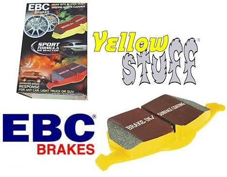 Focus Mk3 ST EBC Yellowstuff Front Brake Pads