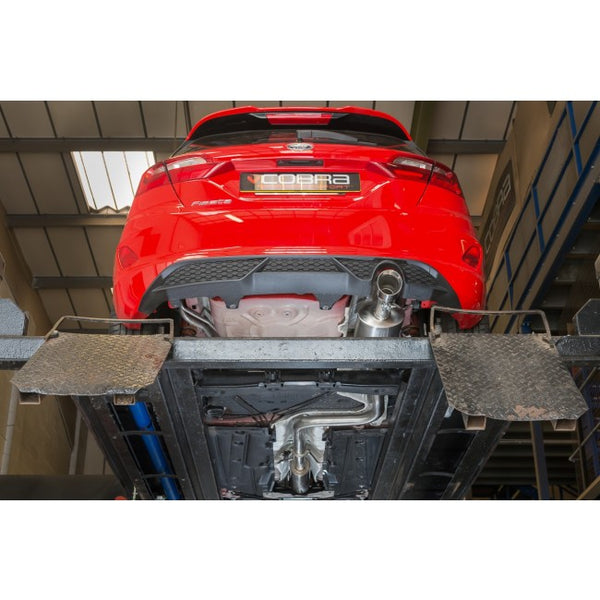 Ford Fiesta MK8 EcoBoost 1.0 ST-Line Cat Back Exhaust (Non-Resonated)