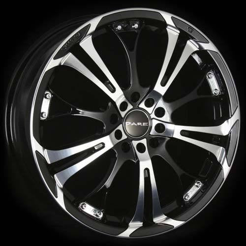 Dare Ghost 18x7.5 5x108/114.3 ET42 Black/Polish face