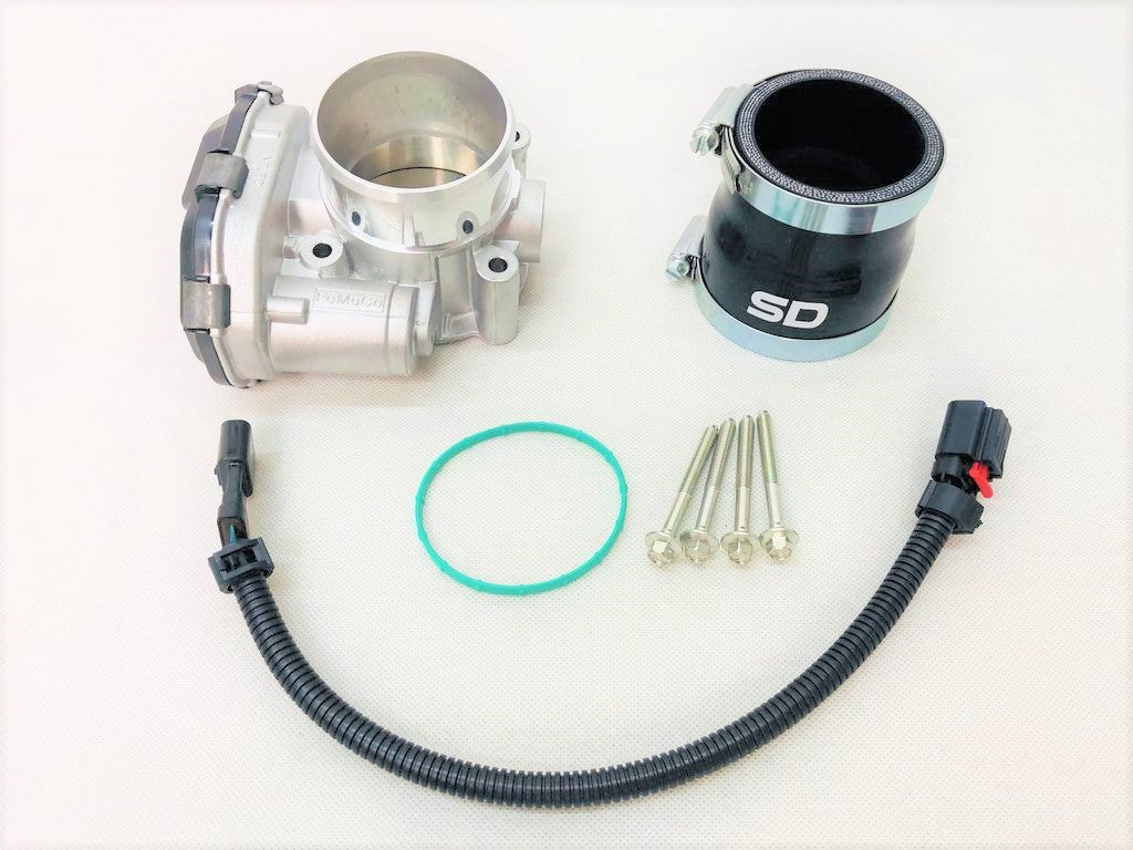 Focus MK3 ST/RS 63mm Throttle Body upgrade kit