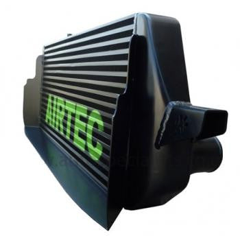Airtec Stage 2 375bhp to 700bhp Intercooler 65mm core, Flowed end tanks + Scoop - Designed for 400+ bhp