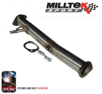 Focus RS Mk2 Milltek De Cat with 3 inch (76mm) pipework
