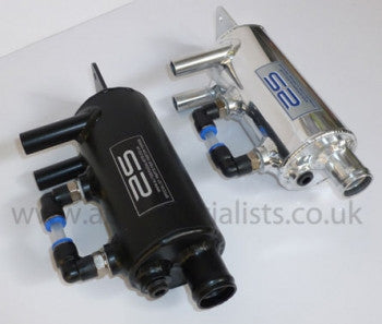 AS Performance Engine Oil Breather system with oil level indicator & full fitting kit